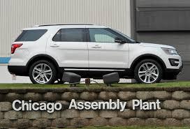 Ford Explorer Upgrades - ford starts building 2016 explorer in chicago