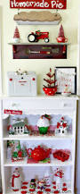 Christmas Tree Ideas 2015 Red Sunny Simple Life Christmas Decorating Ideas In Red And White