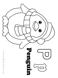 letter p coloring page free colouring pages 5891