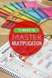 you call that a multiplication table this is a multiplication