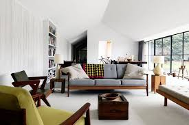 Mid Century Modern Living Room Design Ideas  Pictures - Interior design vintage modern