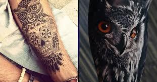 hand tattoo owl danielhuscroft com