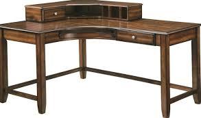 Corner Wood Desk White Wood Corner Desk Home Design Ideas