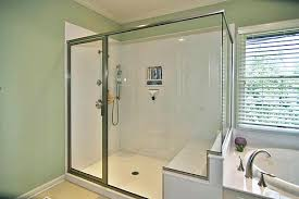 Walk In Shower With Bench Seat Custom Tile Showers Custom Tile Shower With Bench Seat Decor