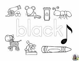 learning about colors coloring pages students learning and