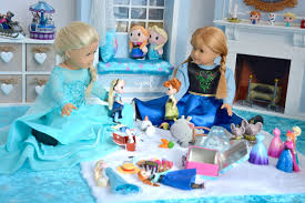 american doll disney frozen elsa and anna u0027s playroom hd