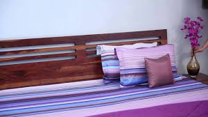 Folding Cot Online Shopping India Beds Online Lynet Bed Honey Finish Online In India Wooden