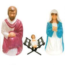 Nativity Sets Outdoor Plastic Lighted Life Size Lighted Plastic Nativity Scenes Bronner U0027s Christmas