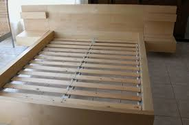 Ikea Bed Slats Queen King Slatted Bed Frame Magnolia Home Stacked Slat Bed King