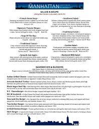 Backyard Bar And Grill Menu by Manhattan Gastropub U0026 Restaurant Restaurants East