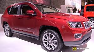 jeep crossover 2015 2015 jeep compass limited 4x4 exterior and interior walkaround