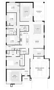 4 bedroom house designs and floor plans home combo