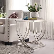 Curved Nightstand End Table Glass Nightstands U0026 Bedside Tables Shop The Best Deals For Dec