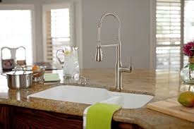 Commercial Style Kitchen Faucets Faucet Com Mno500bcp In Polished Chrome By Miseno