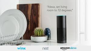 amazon echo compatible lights wink enabled nest thermostats now work with amazon alexa wink blog