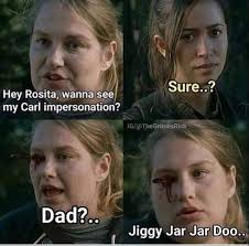 Carl Walking Dead Meme - the walking dead eugene denise and daryl memes