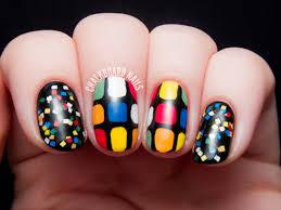 rubik u0027s cube nail art chalkboard nails nail art blog