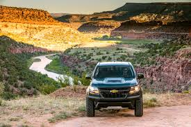 chevy tracker off road 2017 chevrolet colorado zr2 first drive review automobile magazine
