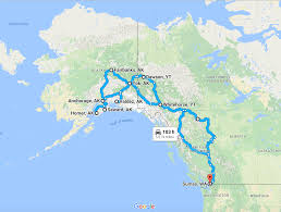United States Road Trip Map by Recapping Our Once In A Lifetime Rv Road Trip To Alaska