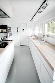 Rubber Kitchen Flooring by Love The Grey Rubber Floor Against The White Units And Wood Work