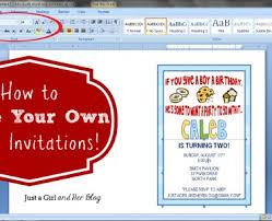 make your own invitations make your own invitations