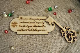 santa key christmas magic door key message to santa mdf apex laser craft