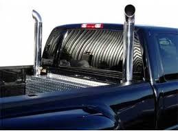 dodge ram smoke stacks mbrp smokers truck stacks shop now