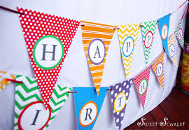 printable alphabet bunting banner rainbow party bunting or banner plus mini banner diy printable