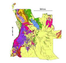 Angola Map Spilpunt Angola