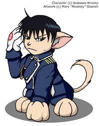 mustang cat roy mustang cat by modesty on deviantart