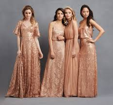 rose gold mix and match donna morgan collection serenity