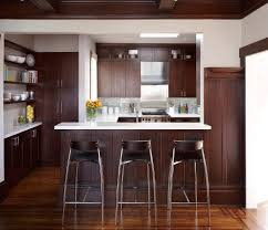 counter stool kitchen traditional with dark wood kitchen island