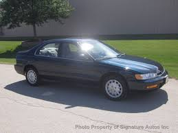 1996 used honda accord sedan 4dr sedan ex automatic at signature