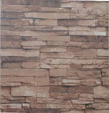 vintage nature textured 3d stacked stone wallpaper antique shabby