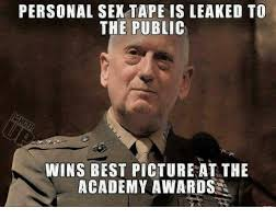 Sex Tape Meme - personal sex tape is leaked to the public wins best picture at the