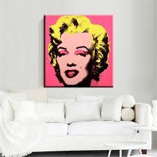 online get cheap vintage pop art aliexpress com alibaba group xh392 pop art marilyn monroe vintage portrait illustration picture modern wall art canvas painting home