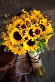Bouquet For Wedding 70 Sunflower Wedding Ideas And Wedding Invitations Deer Pearl