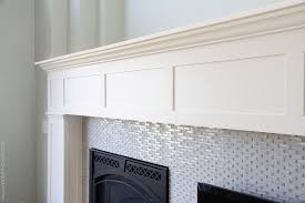 How To Build Fireplace Surround by How To Build Own Mantel Home Improvement Build Your Own