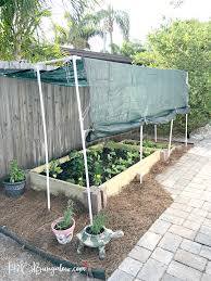 Home Vegetable Gardens by How To Build A Raised Vegetable Garden Bed H20bungalow