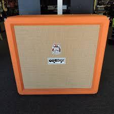 Orange Cabinet 4x12 Used Orange Ppc412 4x12 Cab Guitar Speaker Cabinet 4 X 12 Guitar