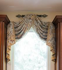 kitchen valances ideas 76 best swags images on pinterest curtain ideas shades and window