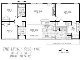 100 legacy mobile home floor plans the arlington ml30523a