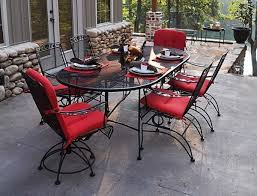 40 wrought iron patio furniture sets for a stylish outdoor area