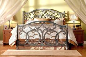 Rod Iron Headboard Black Iron Headboard White Metal Headboard Size Of Black