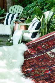 Patio Area Rug Woodsy Patio Hangout Cuckoo4design