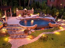 Backyard Lighting Ideas Lighting Ideas Fantastic Landscape Lighting Design With Backyard
