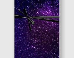 galaxy wrapping paper wrapping paper etsy
