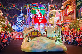 mickey s once upon a christmastime parade photos disney tourist