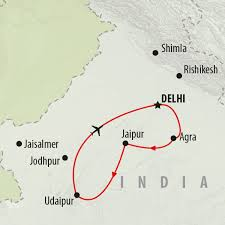 Jaipur India Map by Visiting India U0027s Golden Triangle On The Go Tours