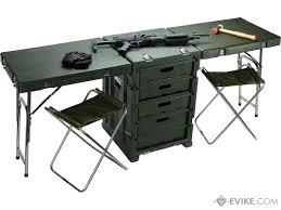 phantom gear tsunami field desk portable folding table cabinets